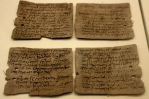 Marcus Velleius Paterculus parchment about Jesus
