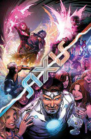 Avengers X-Men: Axis #6 cover