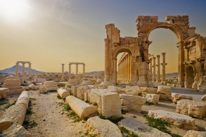 Hadrians Gate, Palmyra