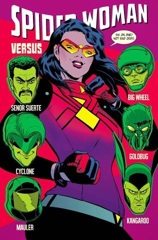 Spiderwoman #7 (2015)