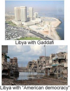 Libya: Before and After