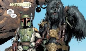 Marvel Darth Vader #1 (2015) Boba Fett