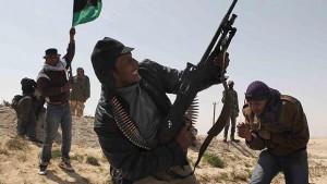 Libyan rebels, 2011
