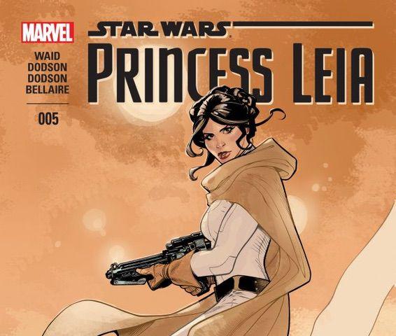 Marvel Princess Leia #5 (2015)