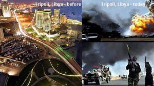 Tripoli, Libya: Before and After