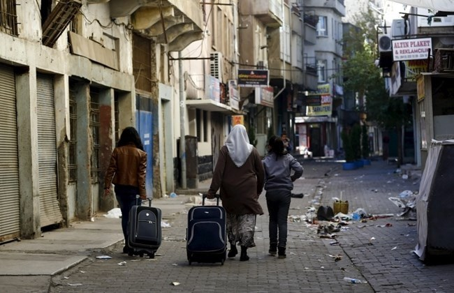 Kurdish civilians in Southern Turkey