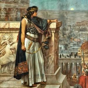 Queen Zenobia's Last Look Upon Palmyra