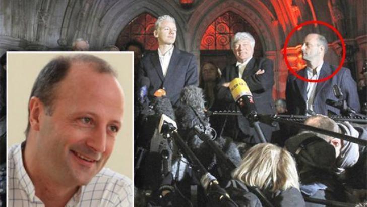 John Jones, lawyer with Julian Assange