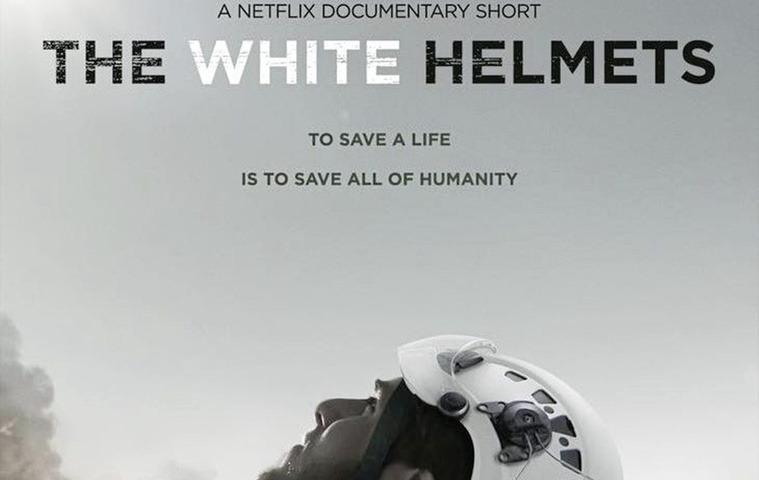 White Helmets film: Netflix poster