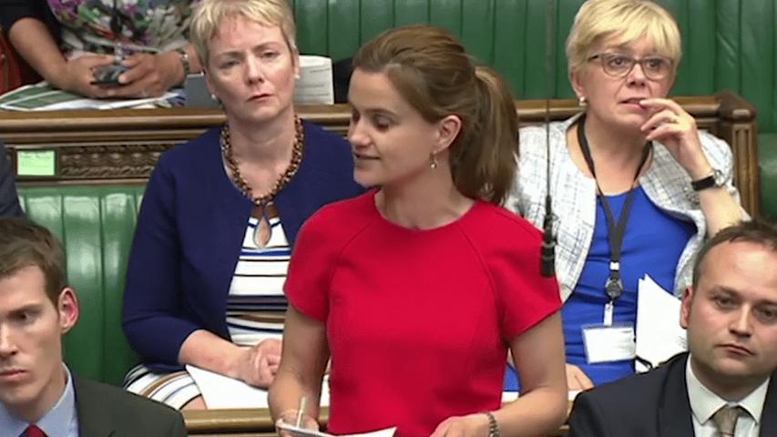 Jo Cox in Parliament