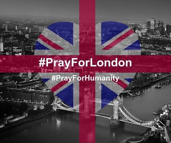 Pray For London meme