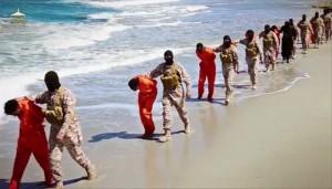 Islamic State terrorists in Libya