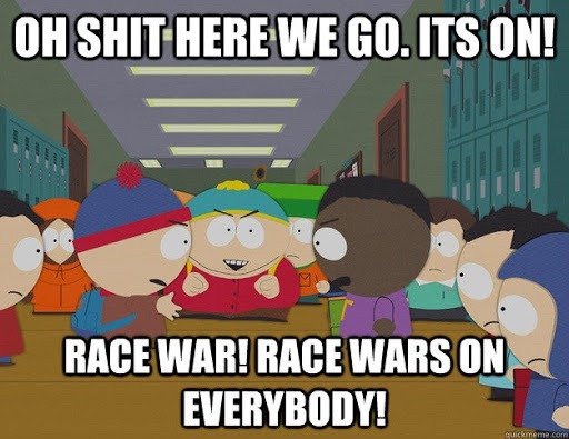 Race War meme, South Park