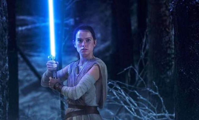 Daisy Ridley as Rey: The Force Awakens