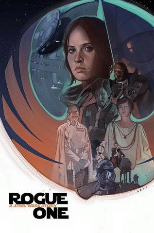 Rogue One, art poster