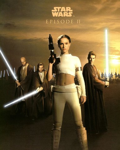 Attack of the Clones, vintage poster
