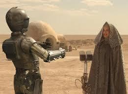 Attack of the Clones, Padme and C3PO