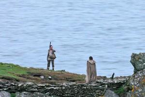Luke and Rey: Ending scene of The Force Awakens