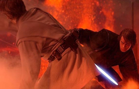 Revenge of the Sith: Lightsaber duel