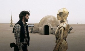 George Lucas and Anthony Daniels, A New Hope