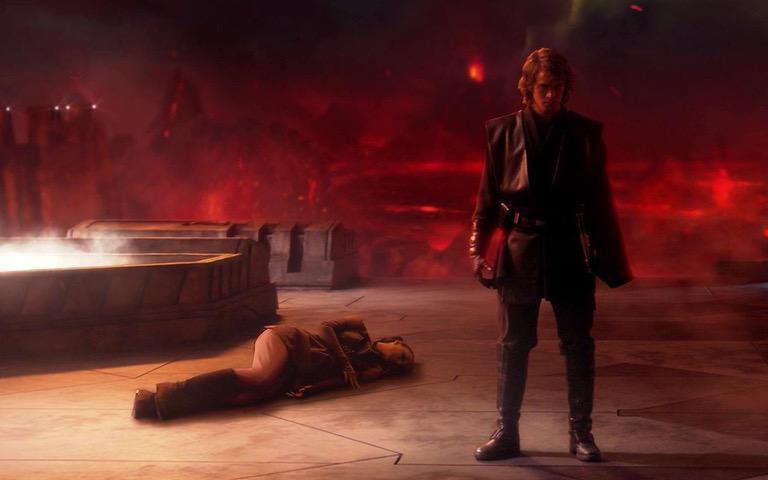 Revenge of the Sith: Anakin Kills Padme