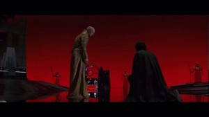 The Last Jedi: Snoke and Kylo Ren