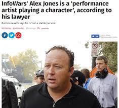 Alex Jones is an actor