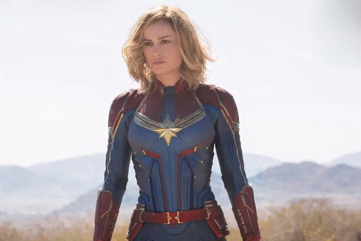 Captain Marvel: Brie Larson