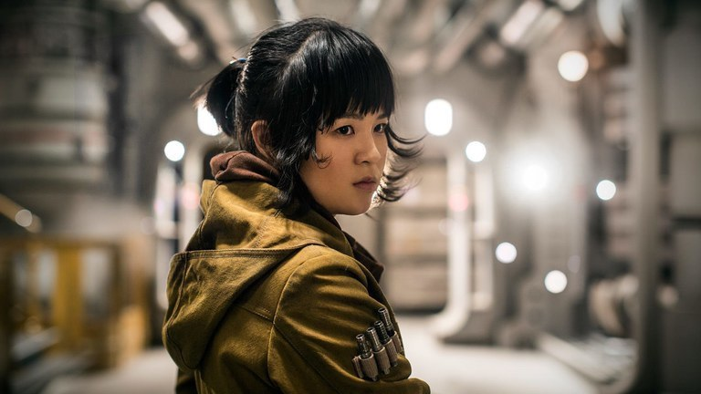 Kelly Marie Tran as Rose Tico: The Last Jedi