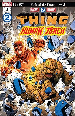Marvel Two-in-One: Thing and Human Torch