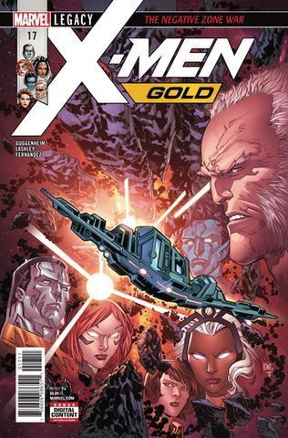 X-Men: Gold #17: The Negative Zone War
