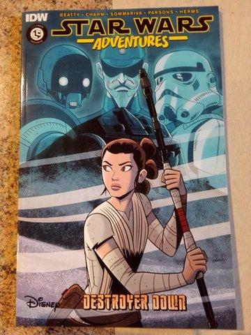 IDW: Star Wars Adventures: Destroyer Down