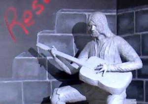 Kurt Cobain Statue, Aberdeen