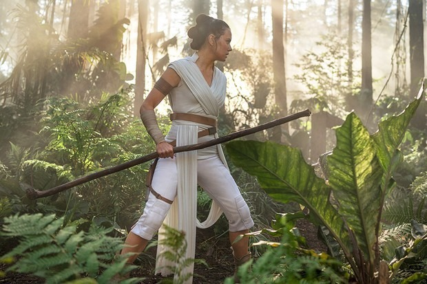 Rey (Daisy Ridley) in The Rise of Skywalker