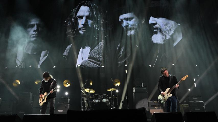 Soundgarden at the Chris Cornell tribute concert