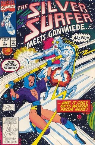 Silver Surfer Vol.3 #81