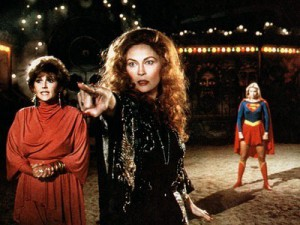 Faye Dunaway in Supergirl