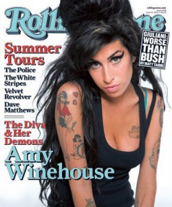Amy Winehouse: Rolling Stone cover
