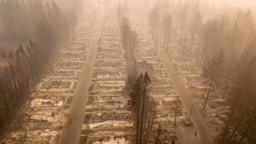 Paradise California Wildfires