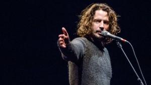 Chris Cornell on stage