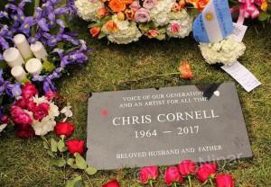 Chris Cornell gravesite