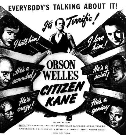 Citizen Kane, original film poster