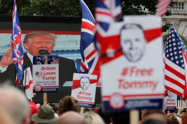Free Tommy Robinson rally