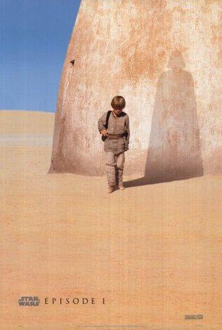Star Wars Episode I: The Phantom Menace movie poster