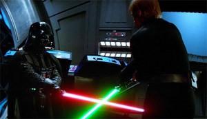 Luke Skywalker vs Darth Vader, Return of the Jedi