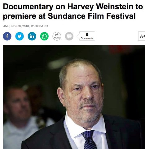 Harvey Weinstein film at Sundance