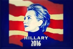 Hillary Clinton 2016 presidential poster