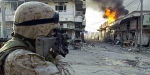 Iraq, Fallujah, American soldier