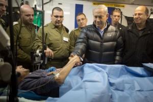 Benjamin Netanyahu with Syrian jihadists