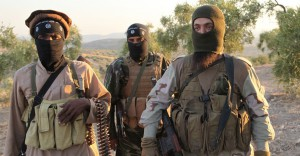 ISIS Militants in Aleppo, Syria. Credit Image: © Medyan Dairieh/ZUMA Wire/ZUMAPRESS.com